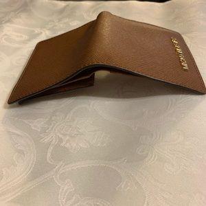 Michael Kors Bags - Small Michael Kors brown leather wallet